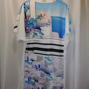Clover canyon dress size Large short sleeves
